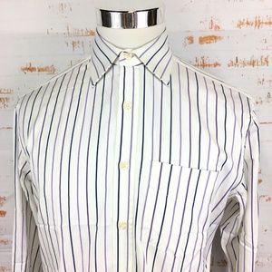 Paul Smith Mens Two Fold Button Front Dress Shirt